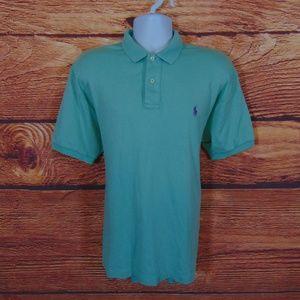 Polo Ralph Lauren mens polo shirt size large green